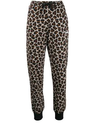 Picture of Msgm | Leopard Print Track Pants