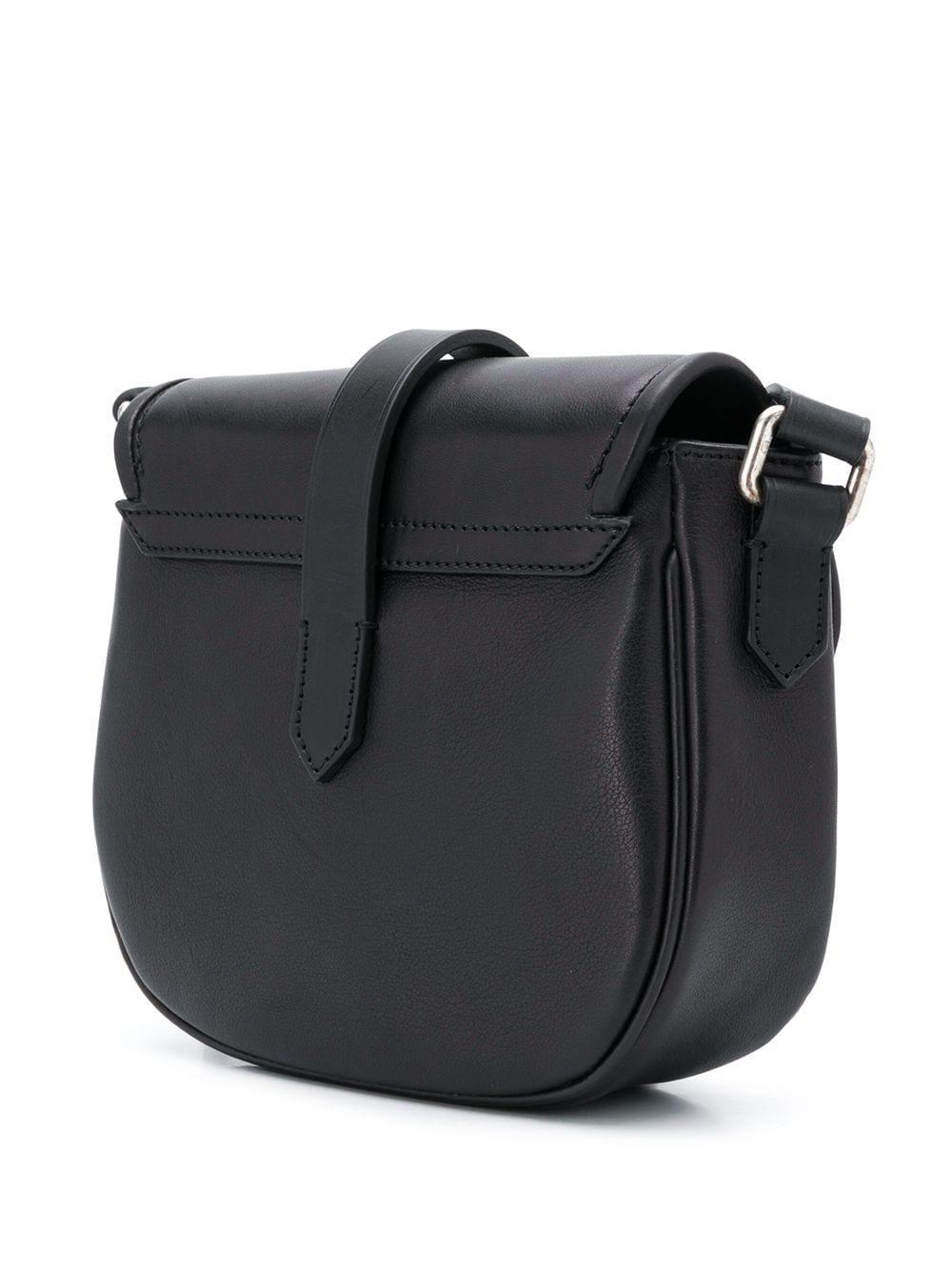 Picture of Golden Goose Deluxe Brand | Motif Buckle Shoulder Bag