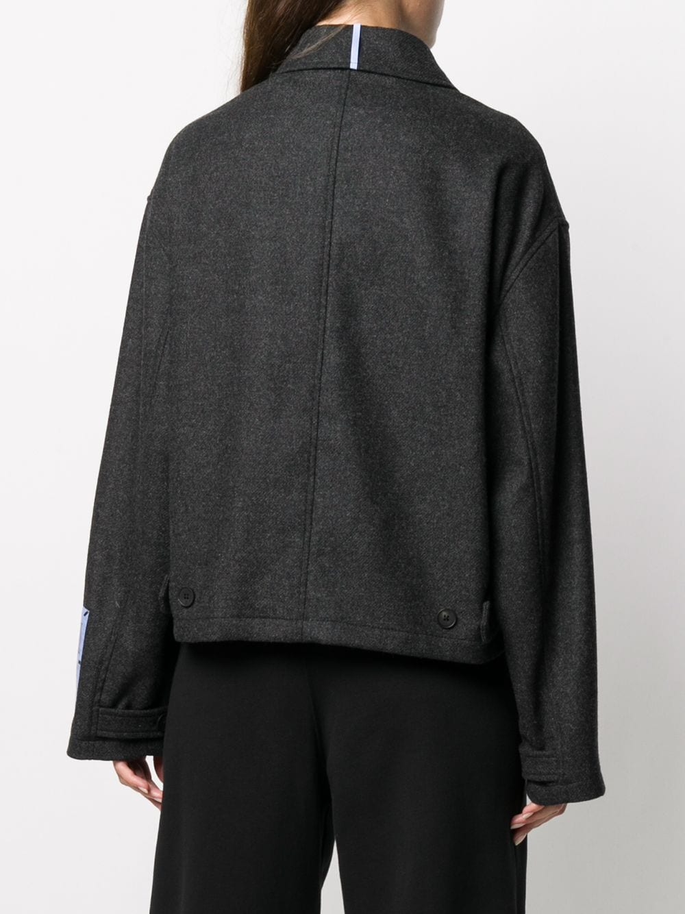Picture of Mcq | Oversized Shirt Jacket