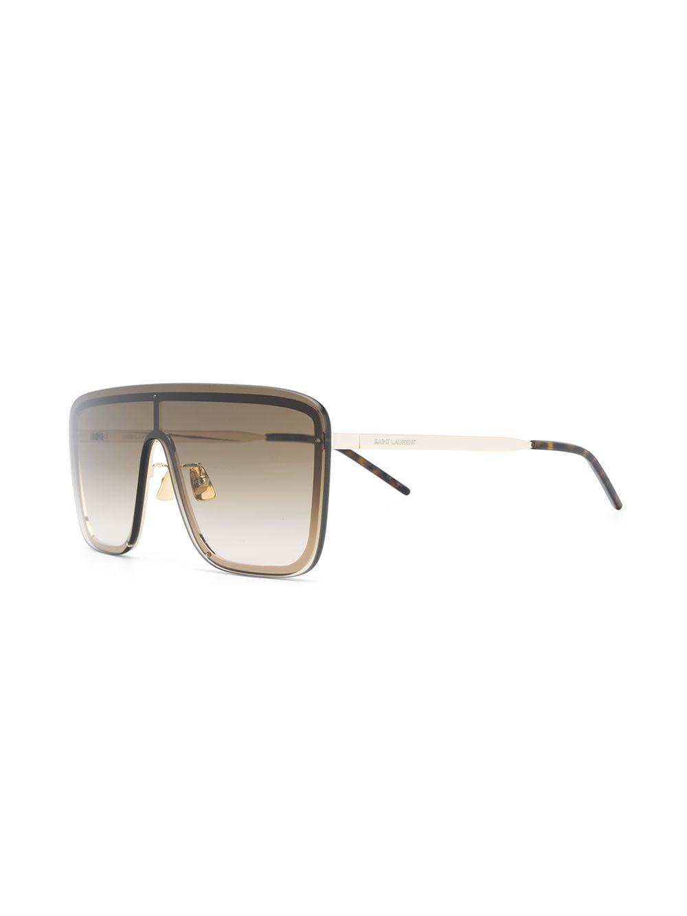 Picture of Saint Laurent | Sl 364 Aviator Sunglasses