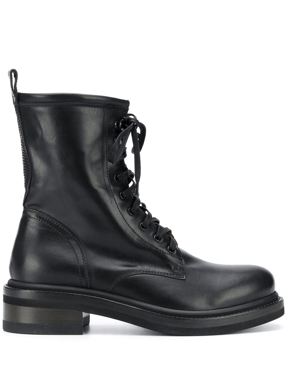 Picture of Buttero | Lace-Up Biker Boots