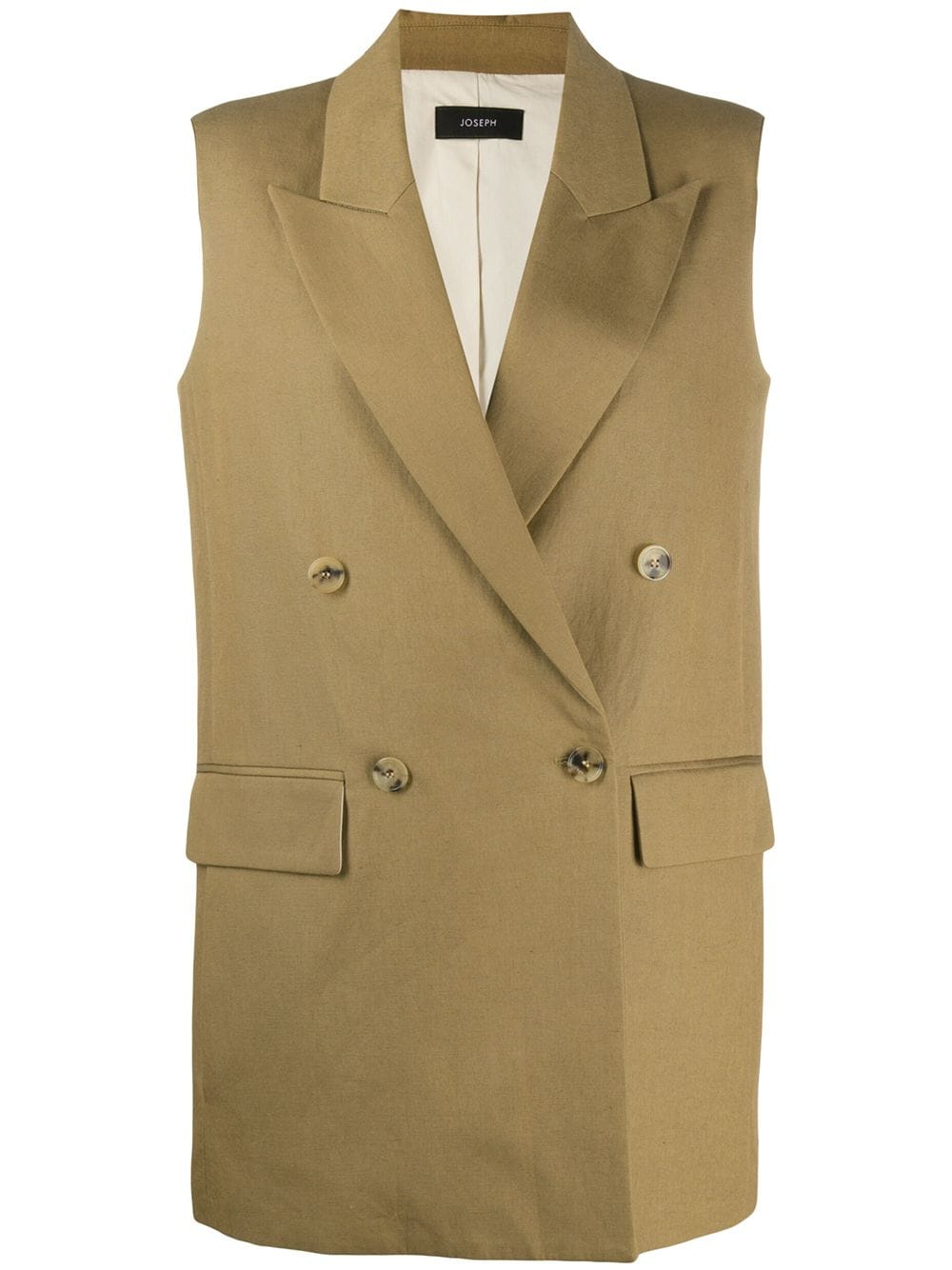 Picture of Joseph | Sleeveless Double Breasted Jacket