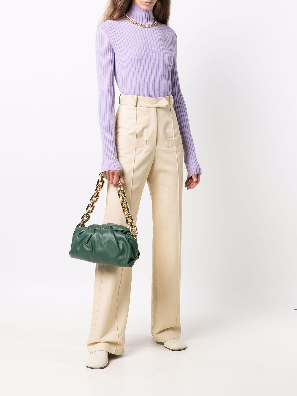 Picture of Bottega Veneta | The Chain Pouch Shoulder Bag