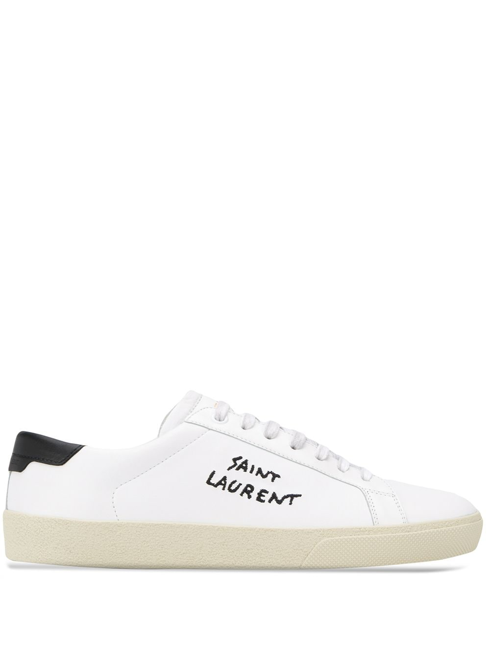 Picture of Saint Laurent | Court Classic Sl/06 Low-Top Sneakers