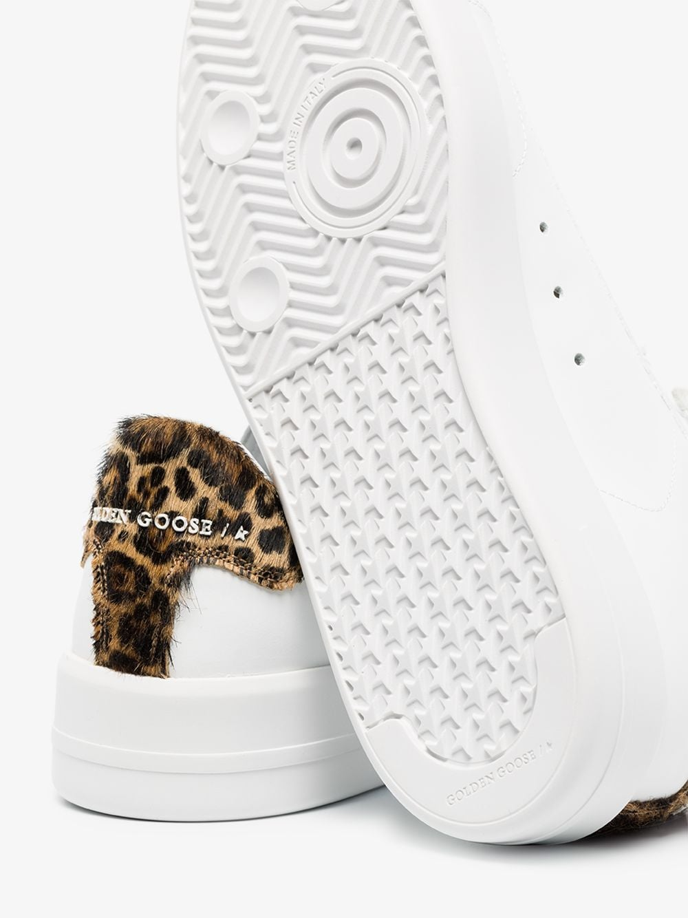 Picture of Golden Goose Deluxe Brand   Pure Star Sneakers