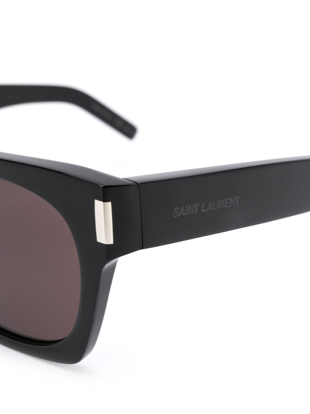 Picture of Saint Laurent | Rectangular-Frame Tinted Sunglasses