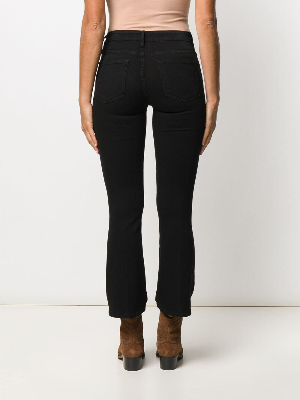 Picture of Frame Denim   Le Crop Bootcut Jeans