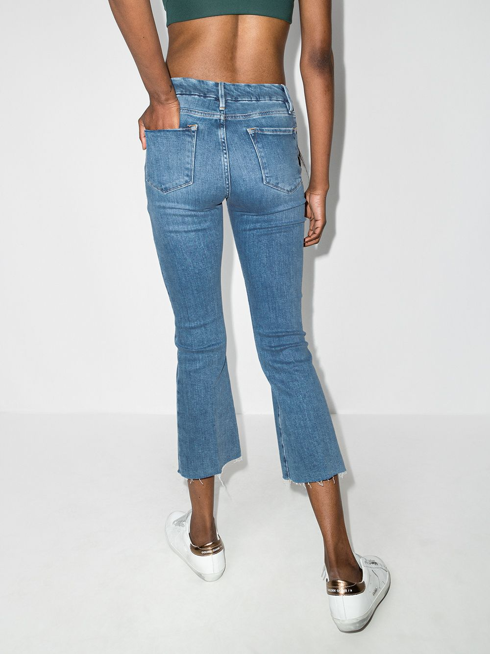 Picture of Frame Denim | Le Crop Bootcut Jeans
