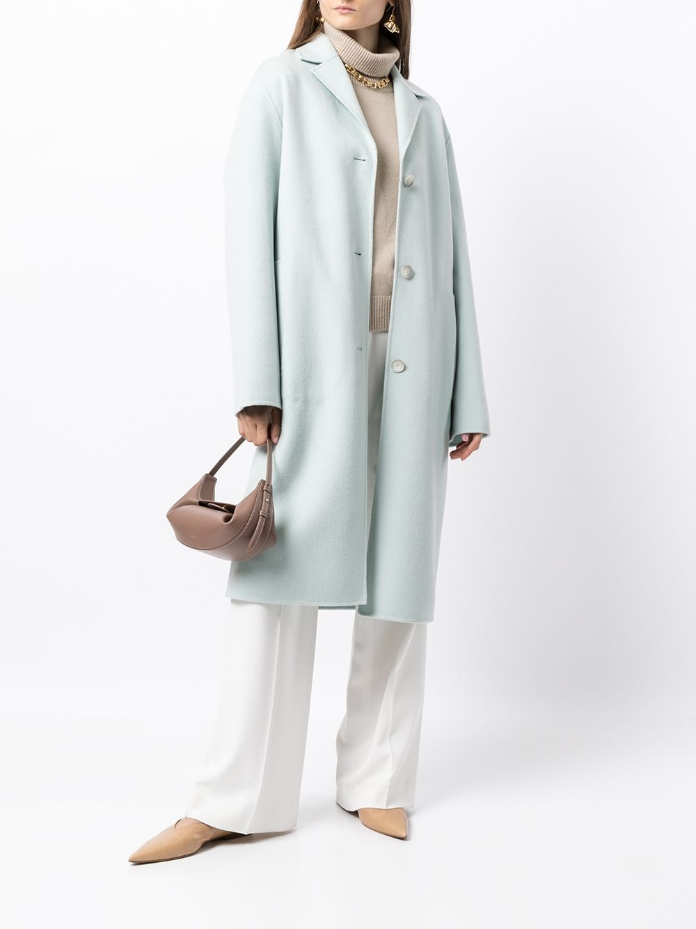 Picture of Joseph | Single-Breasted Tailored Coat