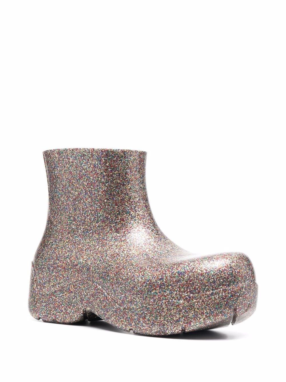 Picture of Bottega Veneta | Glitter Puddle Boots