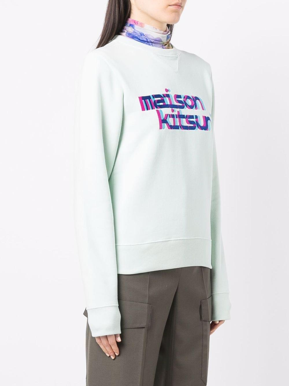 Picture of Maison Kitsune` | Logo-Print Sweatshirt