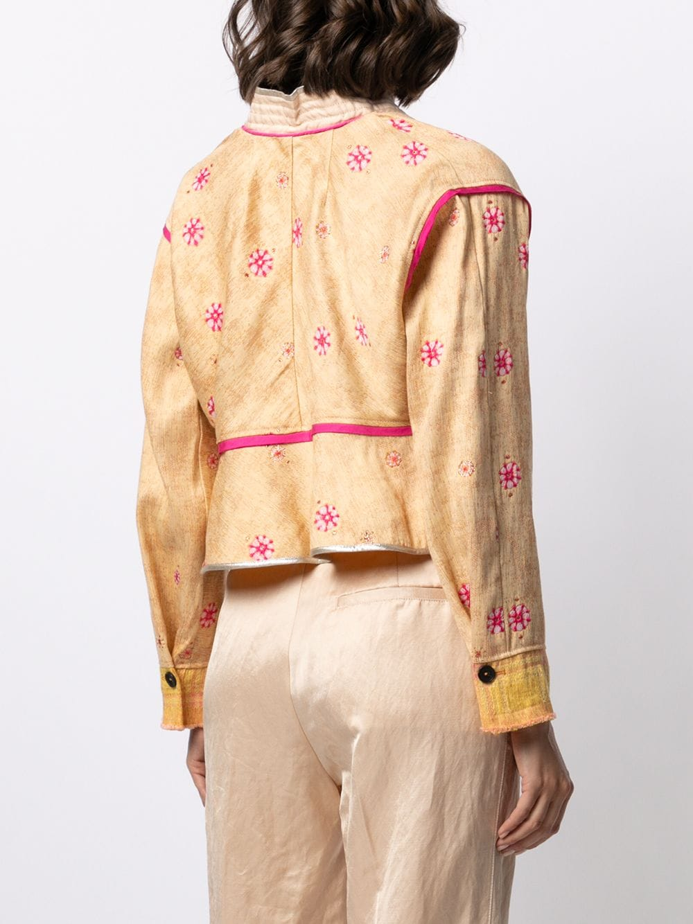 Picture of Forte_Forte | Embroidered Fitted Jacket