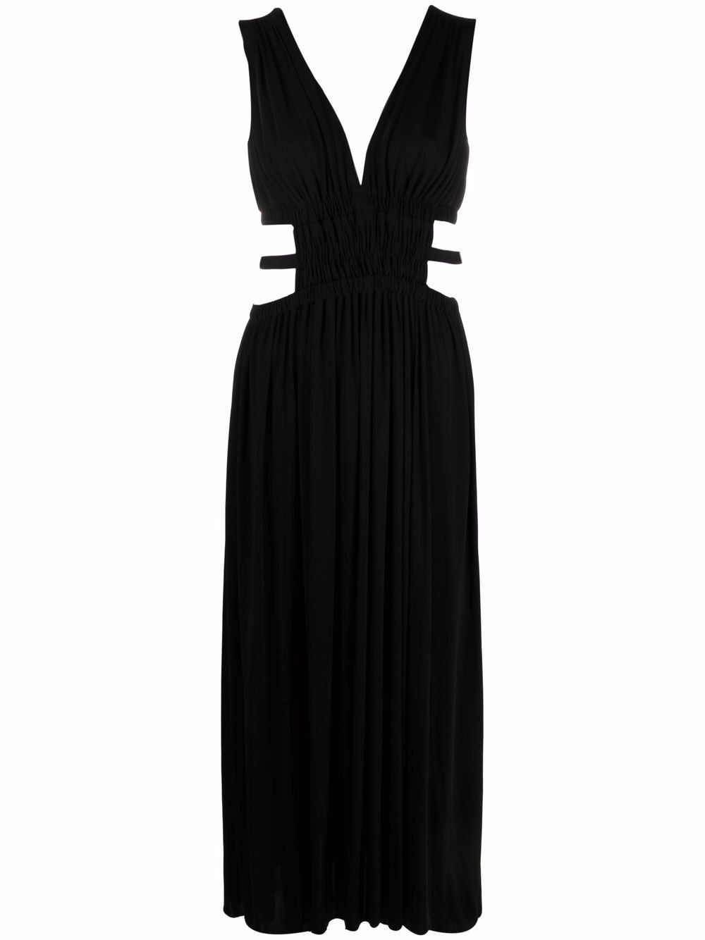 Picture of Erika Cavallini   Cut-Out V-Neck Dress