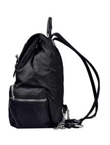 Picture of Burberry | Medium Rucksack In Technical Nylon And Leather