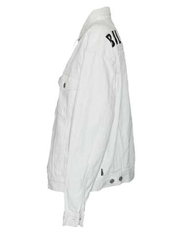 Picture of Balenciaga | White Like A Man Denim Jacket