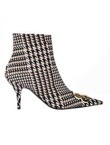 Picture of Balenciaga | Bb Booties Houndstooth