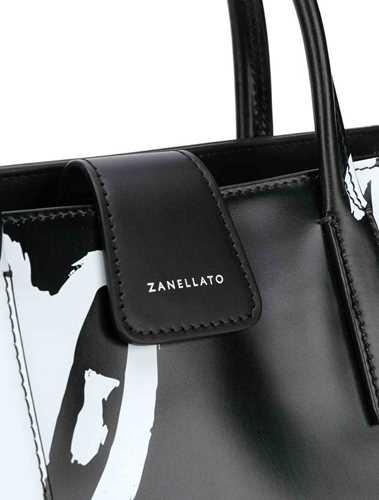 Picture of Zanellato | Script Print Tote