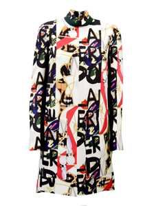 Picture of Burberry | Graffiti Archive Scarf Print Cotton Dress