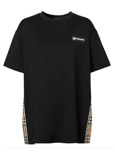 Picture of Burberry | Vintage Check Panel T-Shirt