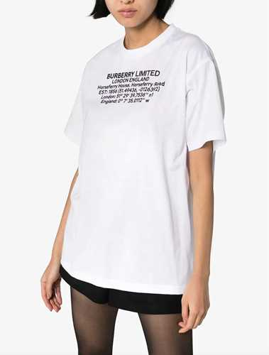 Picture of Burberry | Logo Printed T-Shirt