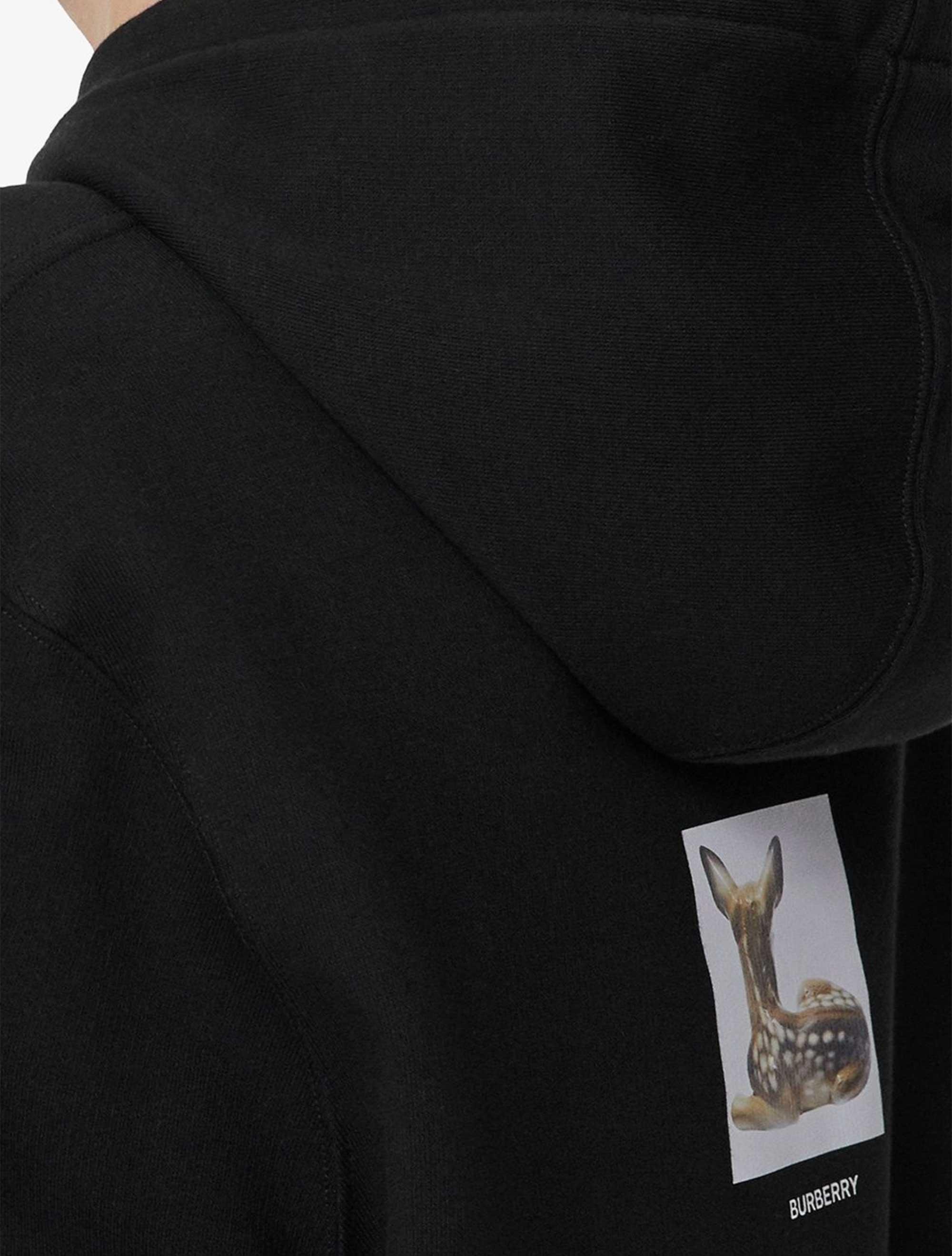 Picture of Burberry   Deer-Print Oversized Hoodie