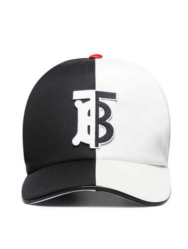Picture of Burberry | Two-Tone Monogram Baseball Cap