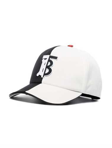 Picture of Burberry | Two-Tone Monogram Baseball Cap