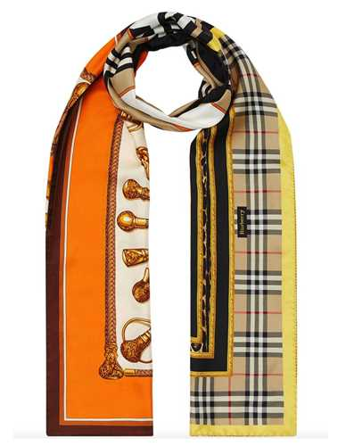 Picture of Burberry | Archival Montage-Print Scarf