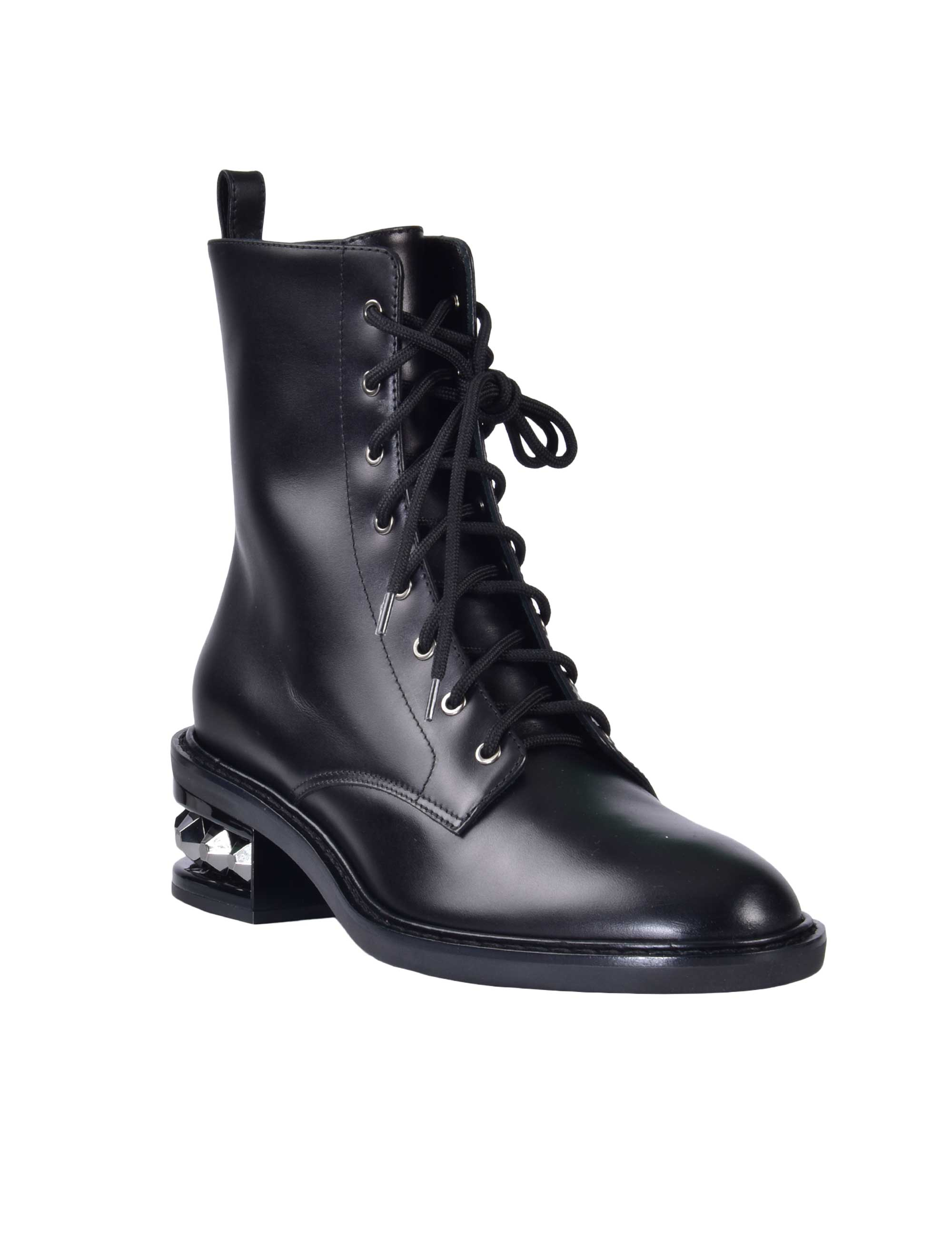 Picture of Nicholas Kirkwood | Lace-Up Ankle Boots