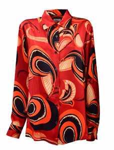 Picture of Dries Van Noten | Printed Silk Shirt