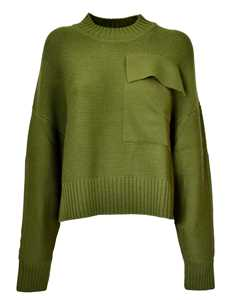 Picture of Jil Sander Navy D | Sweater With Pocket