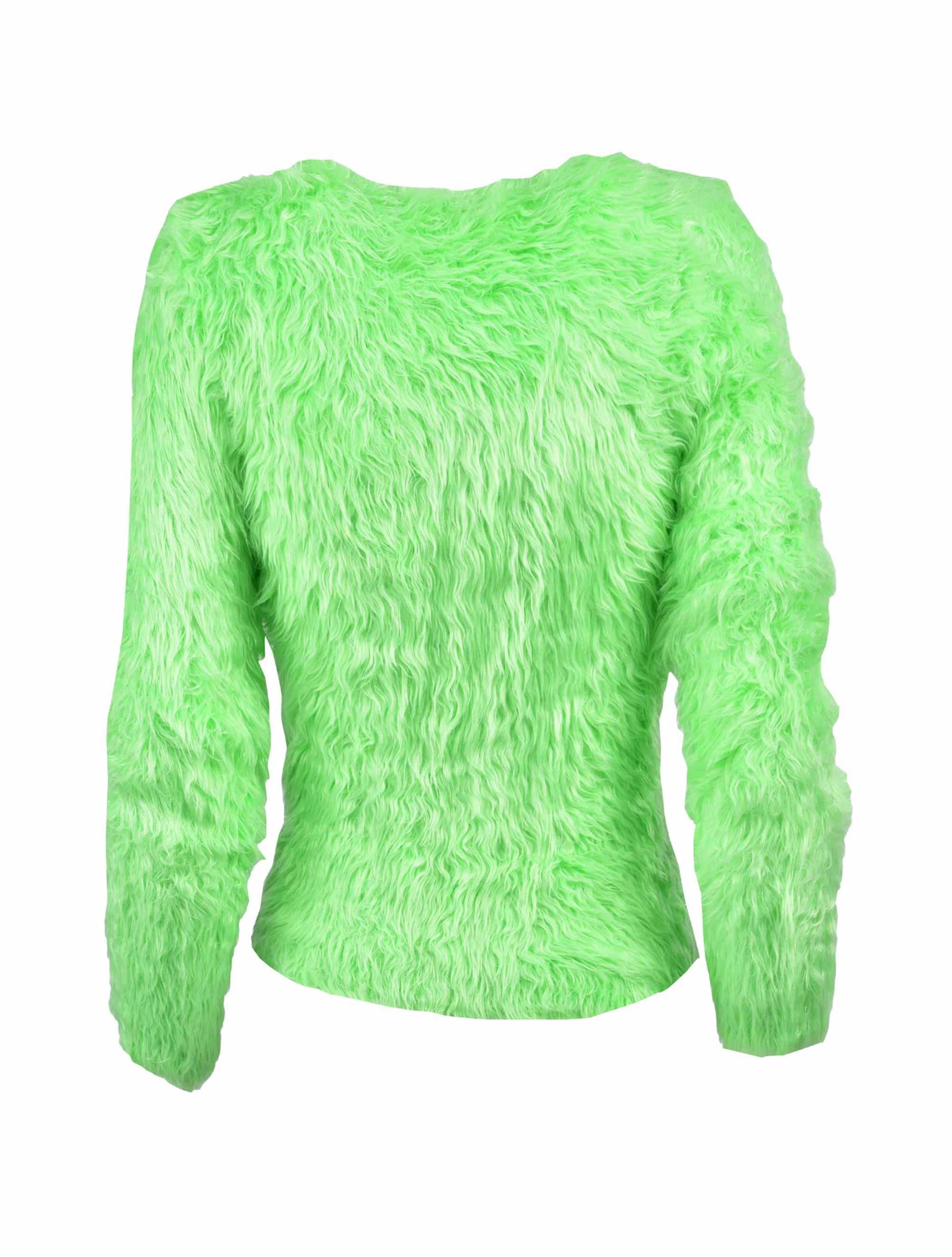 Picture of Balenciaga | Neon Fluffy Jumper