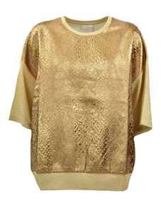 Picture of Dries Van Noten | Metallic T-Shirt
