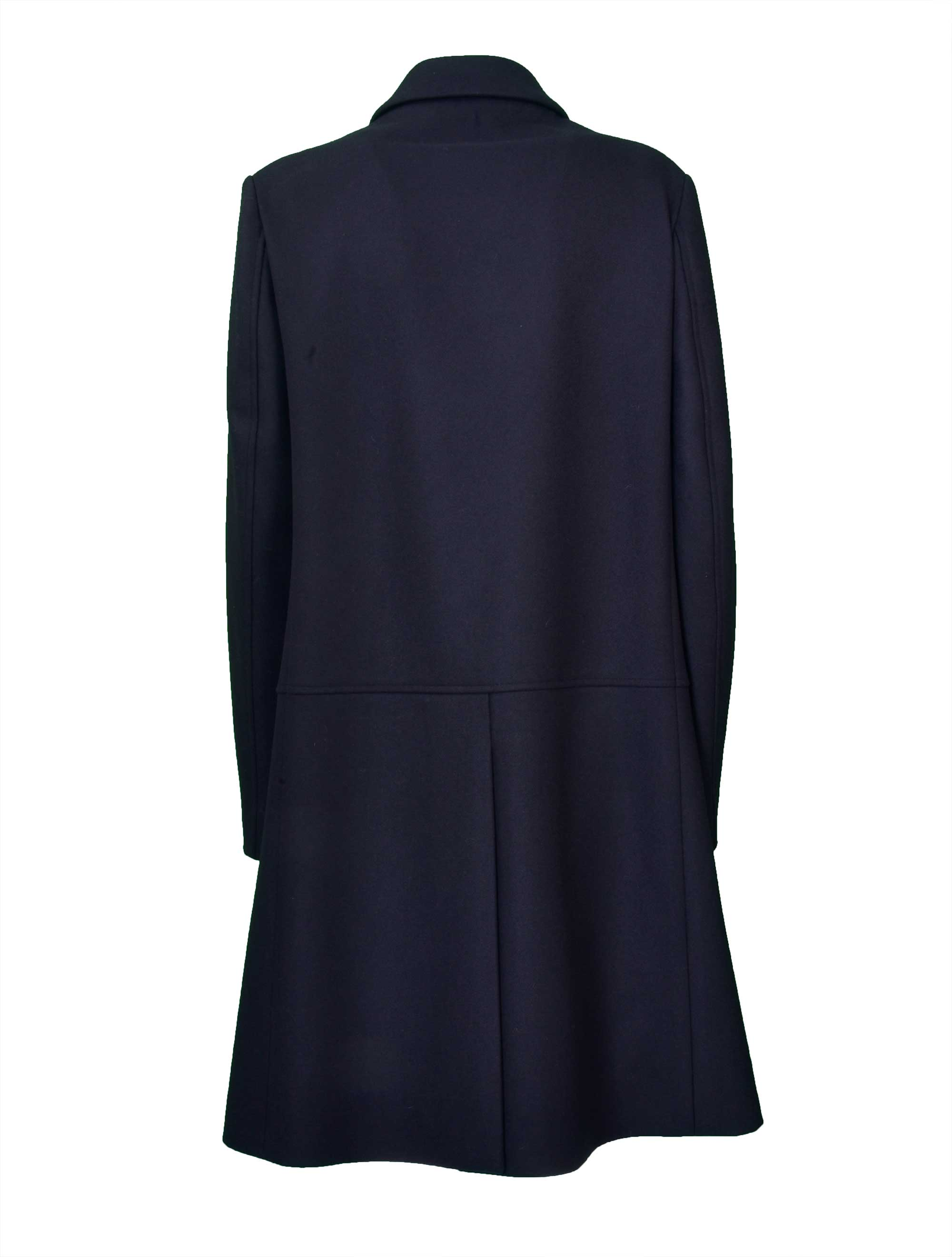 Picture of Jil Sander Navy D | Single Breasted Coat