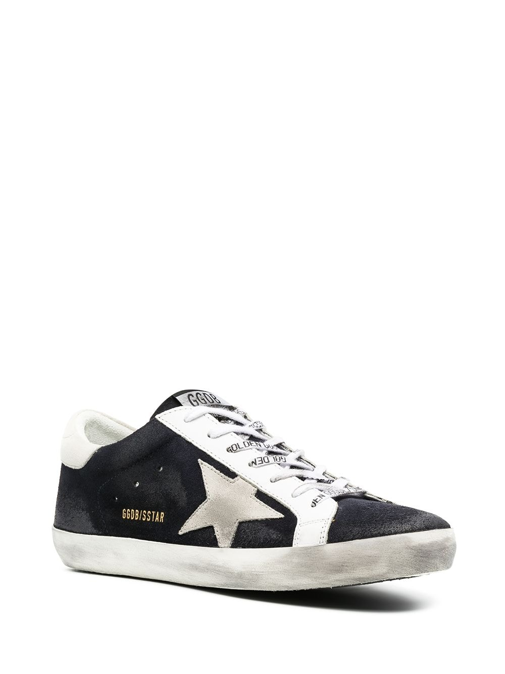 Picture of Golden Goose Deluxe Brand | Superstar Distressed-Effect Sneakers