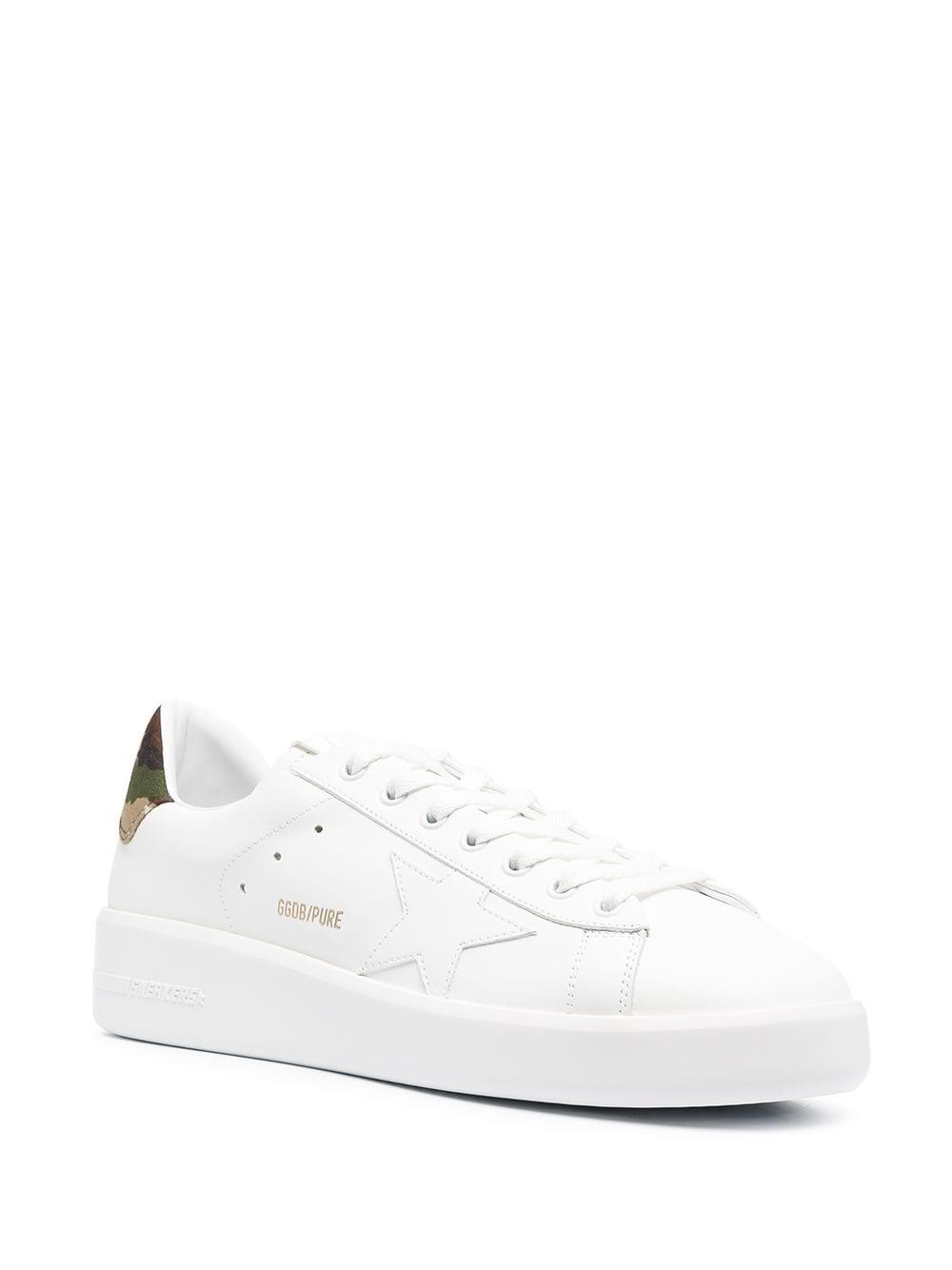 Picture of Golden Goose Deluxe Brand | Purestar Low-Top Sneakers