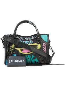 Picture of Balenciaga | Classic City Mini Aj Graffiti