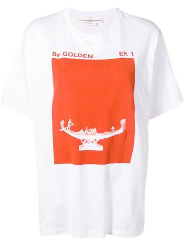 Picture of Golden Goose Deluxe Brand | Printed T-Shirt