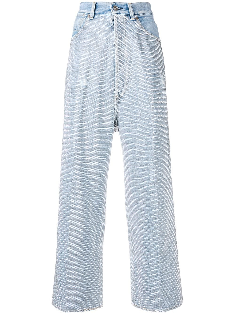 Picture of Golden Goose Deluxe Brand | Breezy Embellished Jeans
