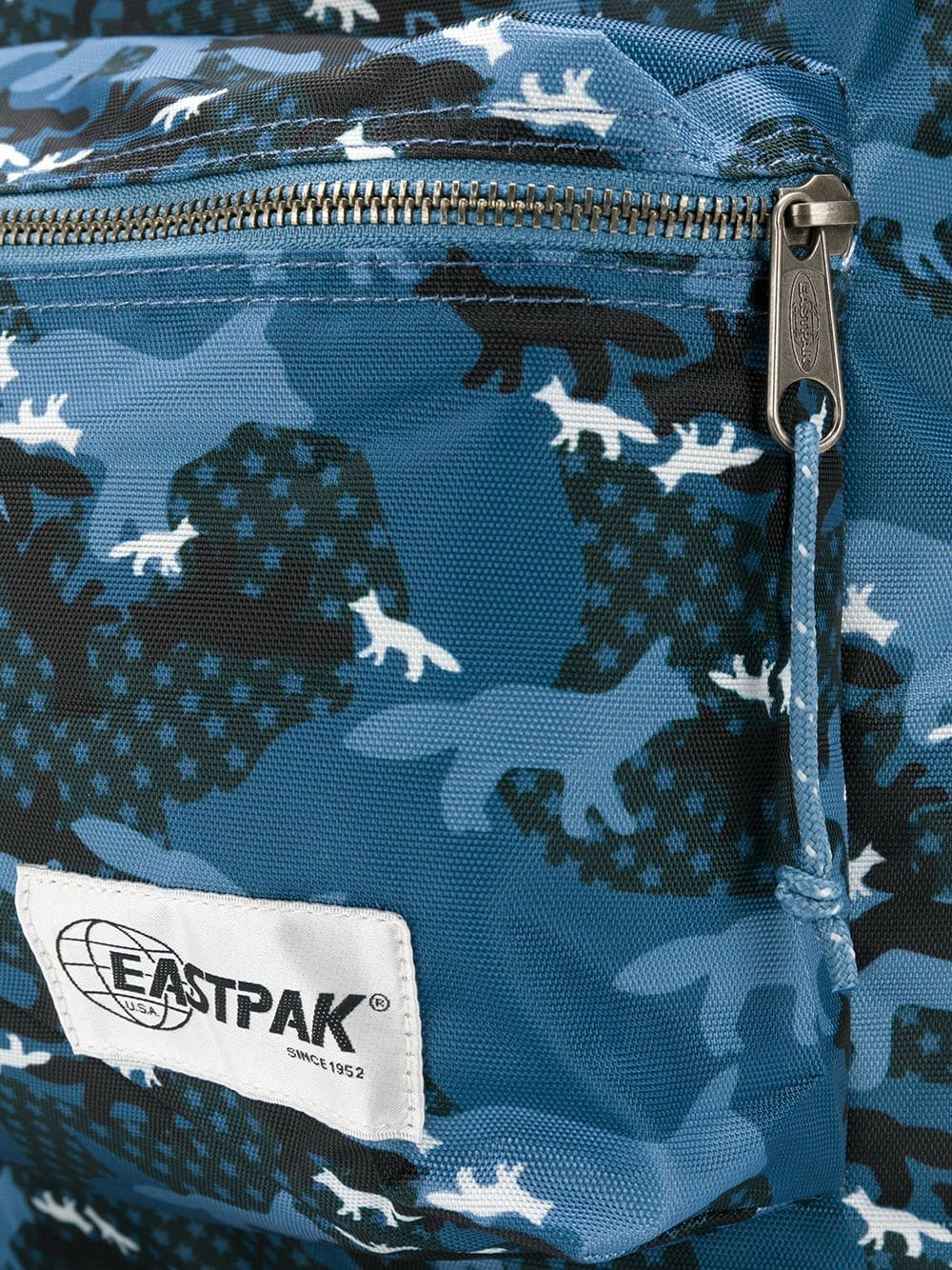 Picture of Maison Kitsune X Eastpak | Printed Backpack