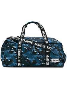 Picture of Maison Kitsune X Eastpak | Print Duffle Bag
