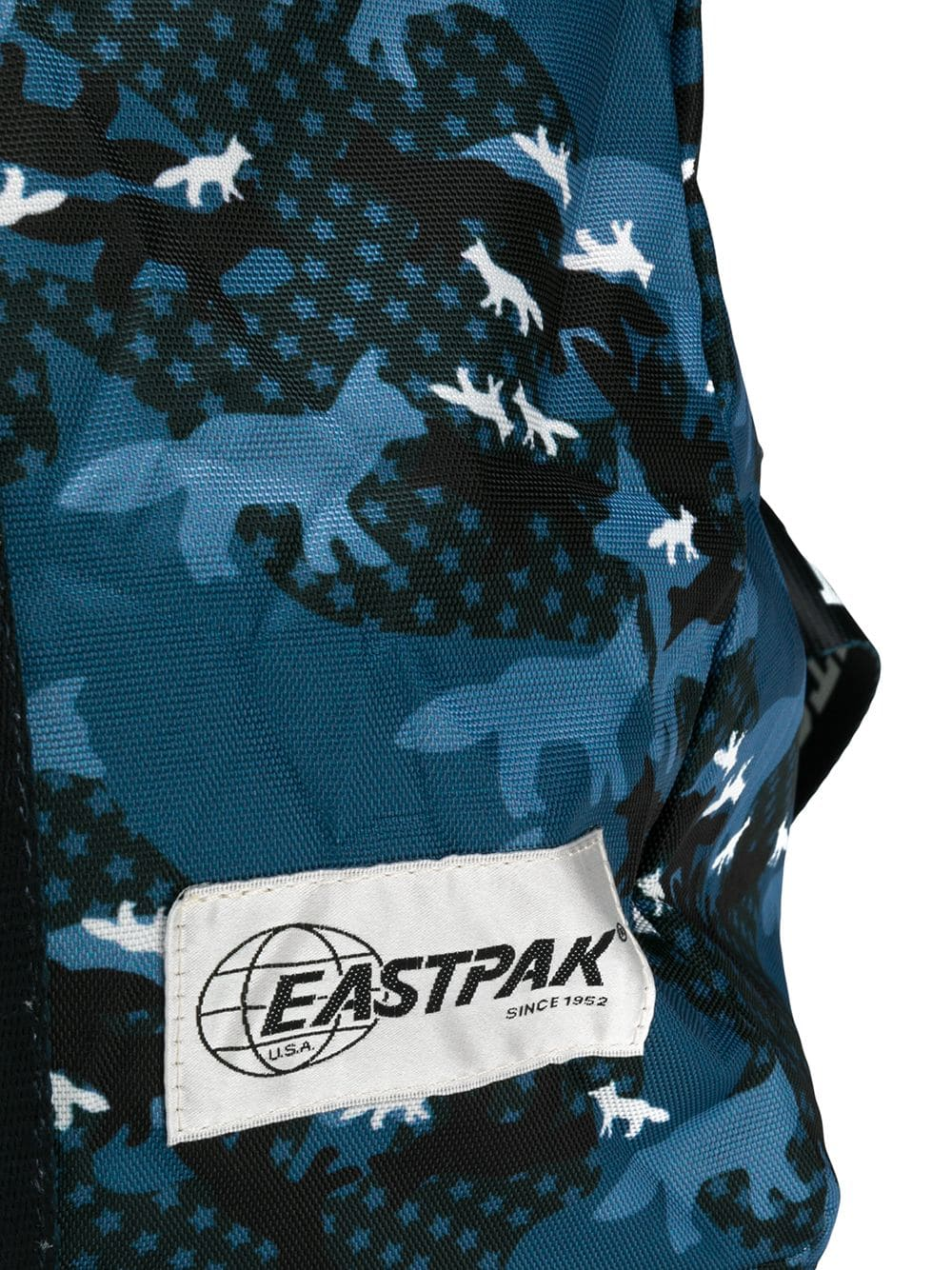 Picture of Maison Kitsune X Eastpak | Print Duffle Bag