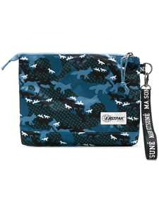 Picture of Maison Kitsune X Eastpak | Printed Clutch Bag