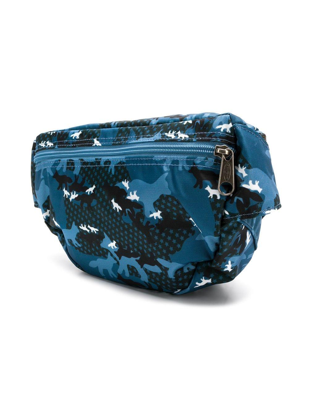 Picture of Maison Kitsune X Eastpak | Large Printed Belt Bag