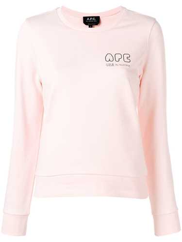 Picture of A.P.C. | Mini Logo Sweatshirt