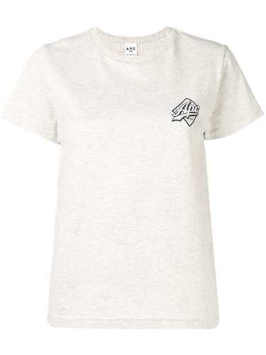 Picture of A.P.C. | Logo Print T-Shirt
