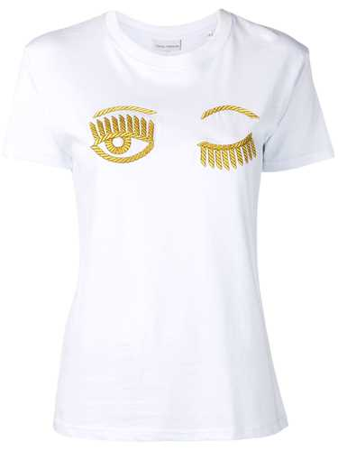 Picture of Chiara Ferragni | Embroidered Wink T-Shirt