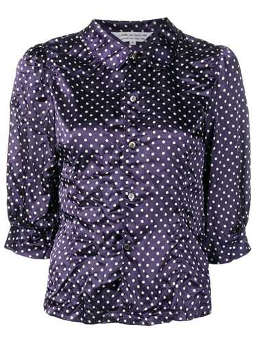 Picture of Comme Comme | Polka Dot Print Shirt