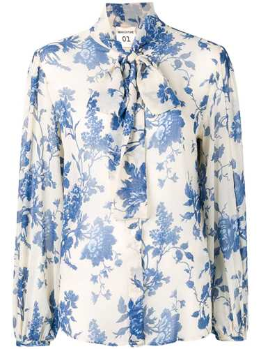 Picture of Semicouture | Floral Printed Shirt