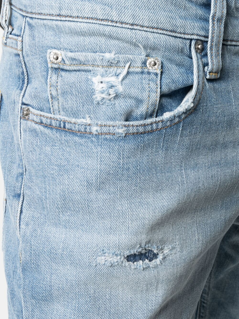 Picture of Department Five   Distressed Skinny-Cut Jeans